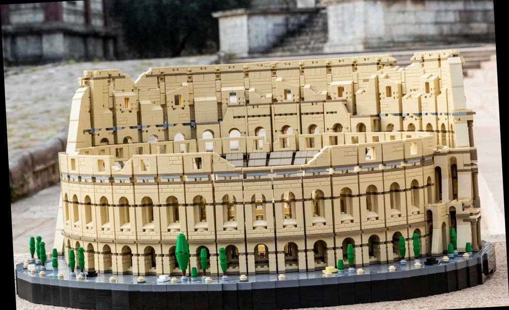 LEGO launch biggest ever set with more than 9,000 pieces — of Rome's iconic Colosseum