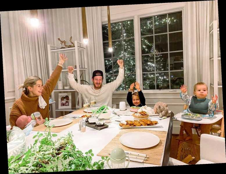 Tyler Hubbard Reunites with His Family After Testing Negative for COVID-19: 'Back in the House'