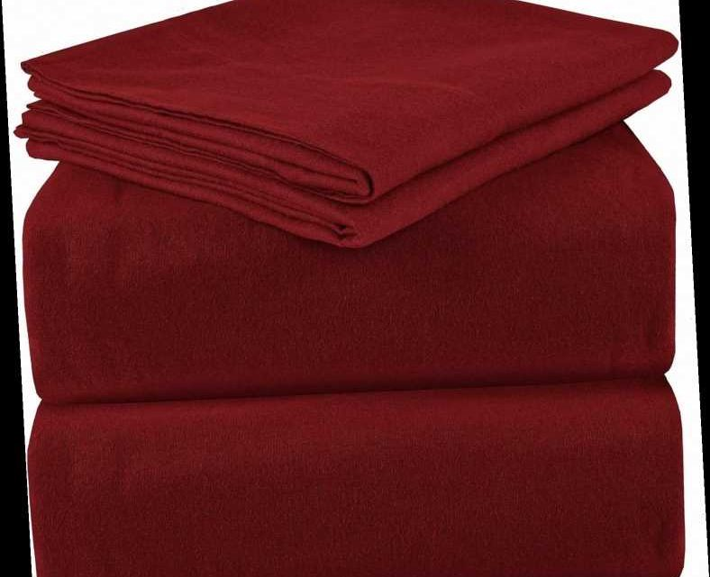 The Bedding Brand Behind Amazon's Most Popular Sheets Also Makes a Cozy Flannel Version