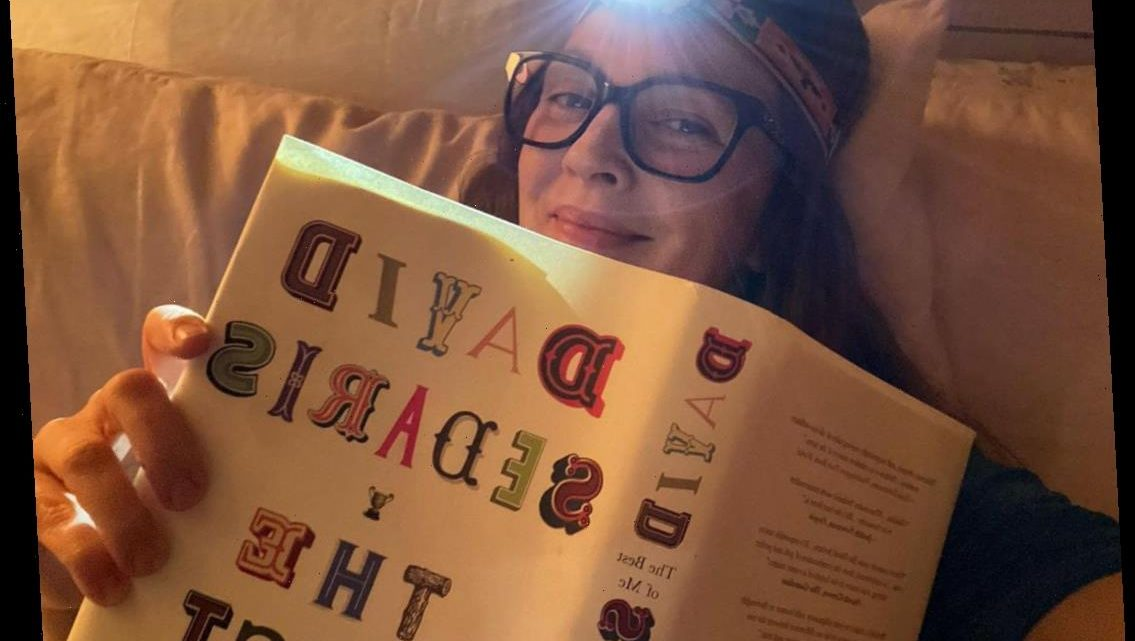 Celebs in Bed! Drew Barrymore Shows Off Her Unique Reading Setup, Plus How More Stars Snuggle Up