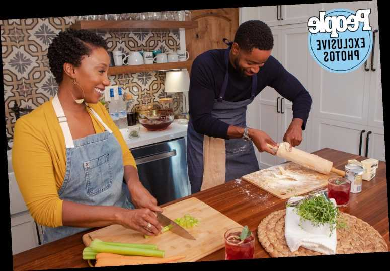 Watch Insecure's Jay Ellis Attempt to Make His Mom's Thanksgiving Dumpling Recipe