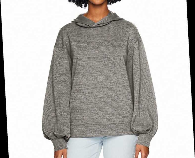 One Flattering Detail on This Super Soft Hoodie Will Make You Look Put Together