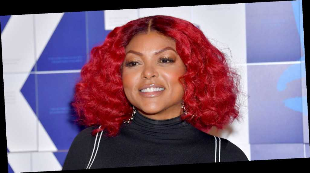 Of Course Taraji P. Henson Can Pull Off a Full Head of Neon Green Hair