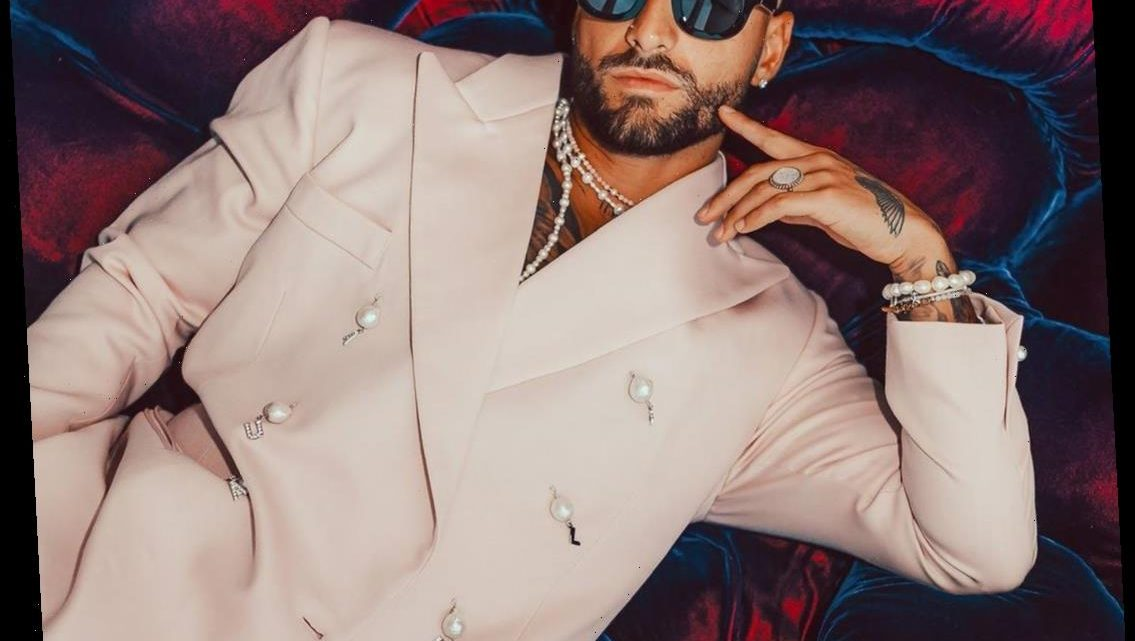 Maluma Will Make Your Temperature Rise After Seeing His White-Hot Outfit at the 2020 MTV EMA