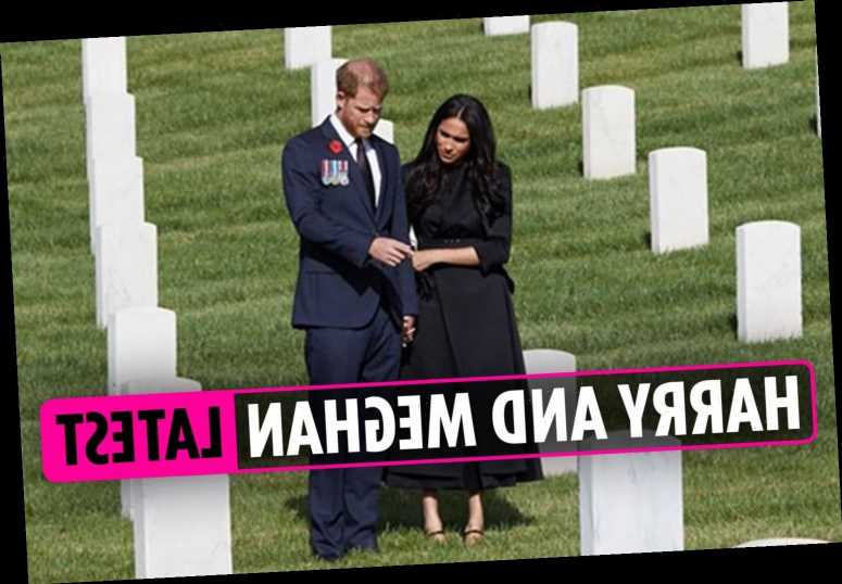 Meghan and Harry latest – Meghan looks to 'heal rift with royals' as Prince's Remembrance Day wreath 'REFUSED'