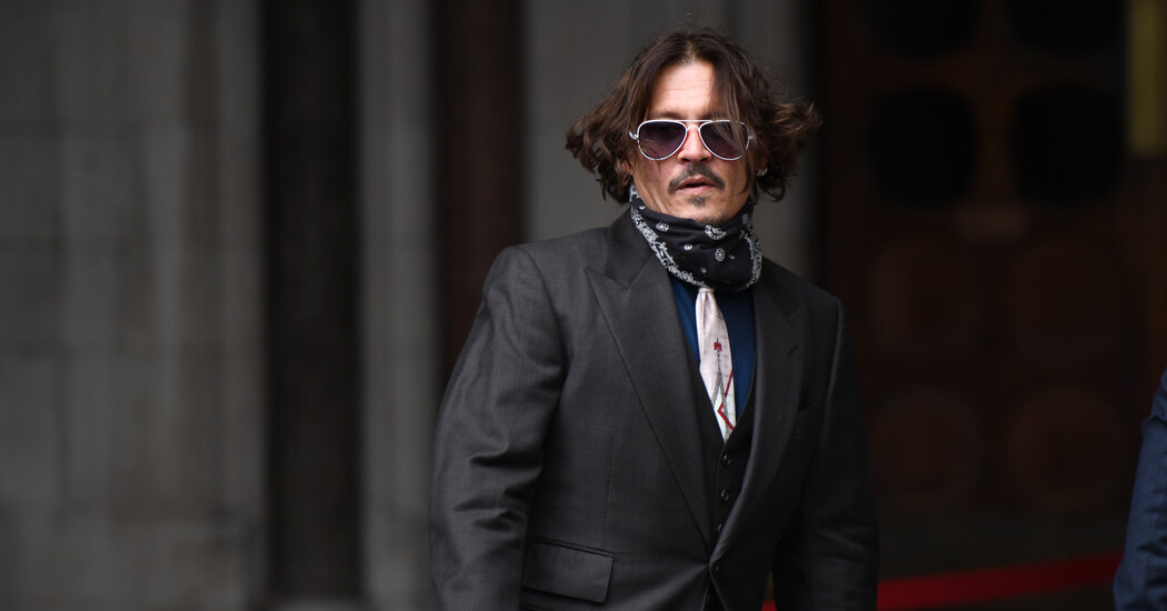 Johnny Depp Loses Court Case Against Newspaper That Called Him a 'Wife Beater'