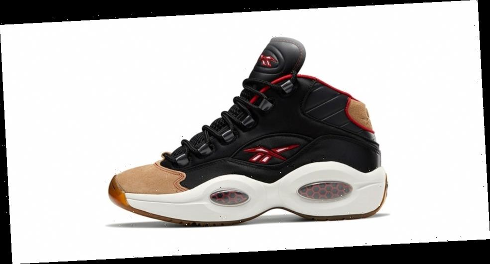 This Reebok Question Mid Pays Homage to A Classic Philadelphia 76ers Alternate Jersey