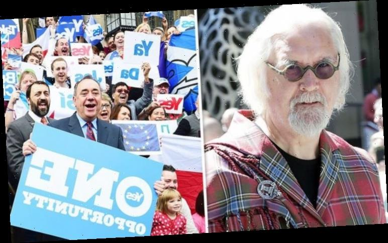 Billy Connolly's rant during Scottish independence row: 'You're in a desperate state'