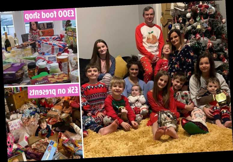 Eye-watering cost of the Radford's Christmas revealed – including epic £5k present haul and £300 festive food shop