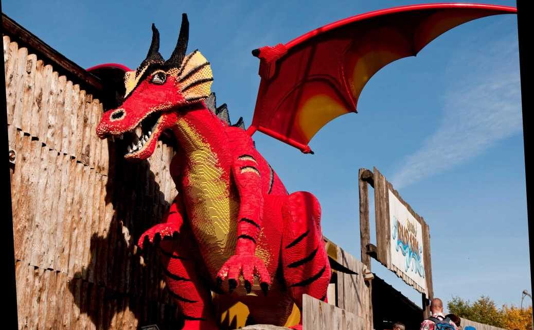 Kids can design the new Legoland attraction by creating their own mythical creatures – which will be built at the park