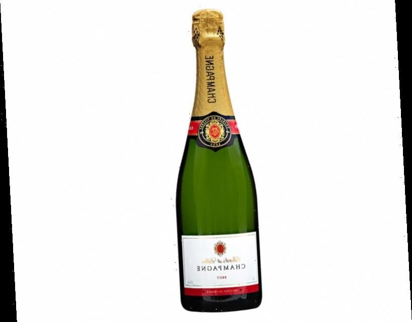 Morrisons is doing half price champagne for £10 a bottle
