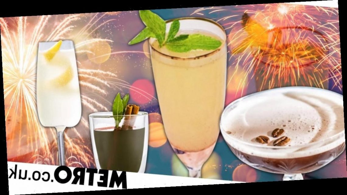 14 cocktails you can make at home to celebrate New Year's Eve