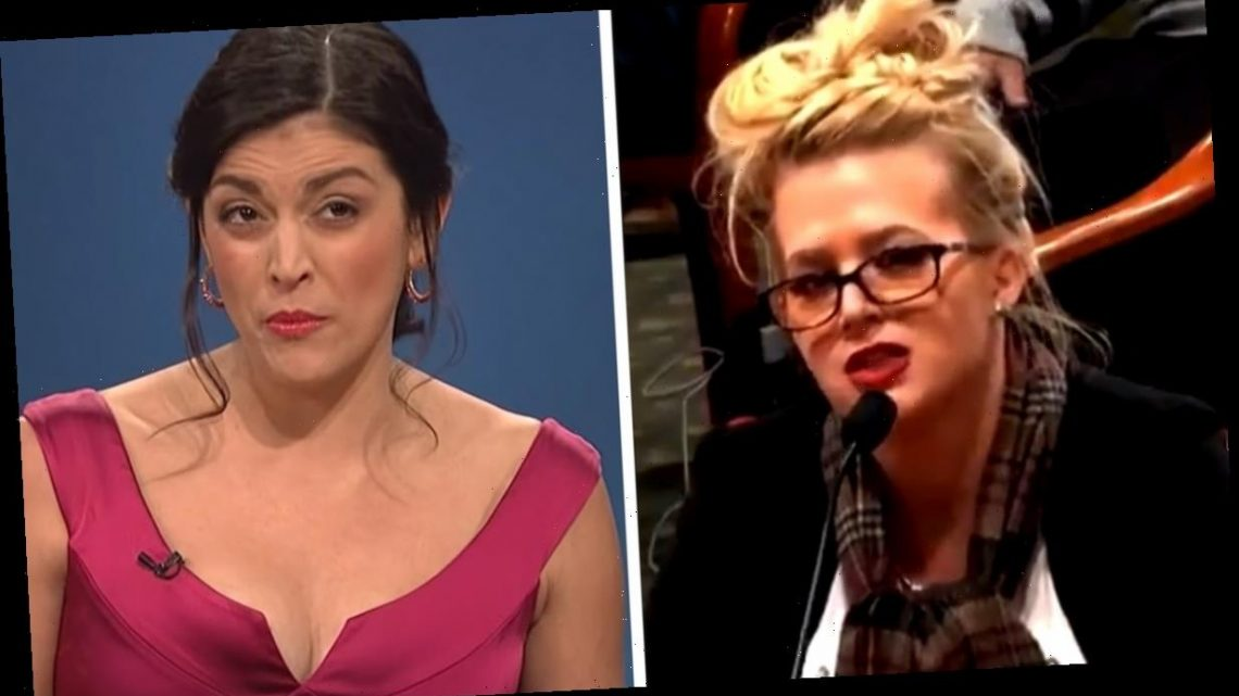 Twitter is Convinced This 'Drunk' Star Witness Giving Evidence on Election Fraud is Actually Cecily Strong