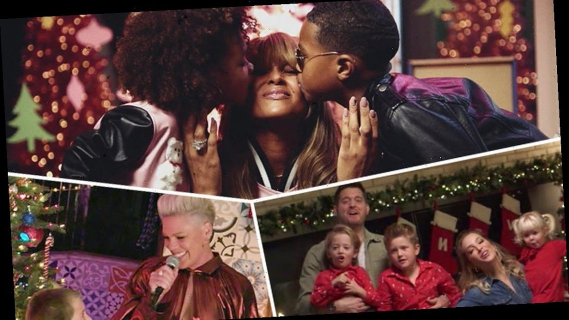Pink, Ciara and Michael Buble's Kids Steal the Show on ABC's Disney Holiday Singalong