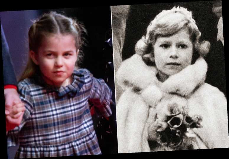 Princess Charlotte Is Great-Grandmother Queen Elizabeth's Adorable Mini-Me in New Christmas Photo