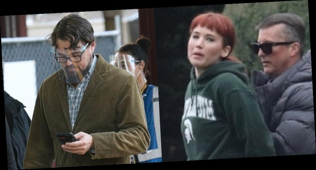 Jennifer Lawrence Sports New Red Hair on 'Don't Look Up' Set with Leonardo DiCaprio!