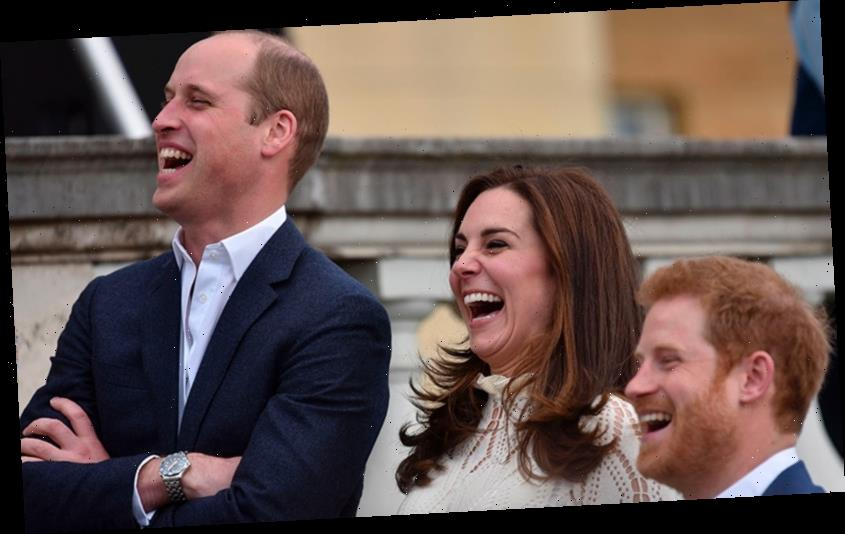 20 times the royals couldn't contain their giggles