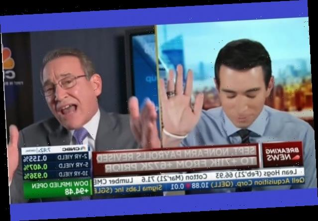 CNBC Segment on Business Closures Becomes Shouting Match