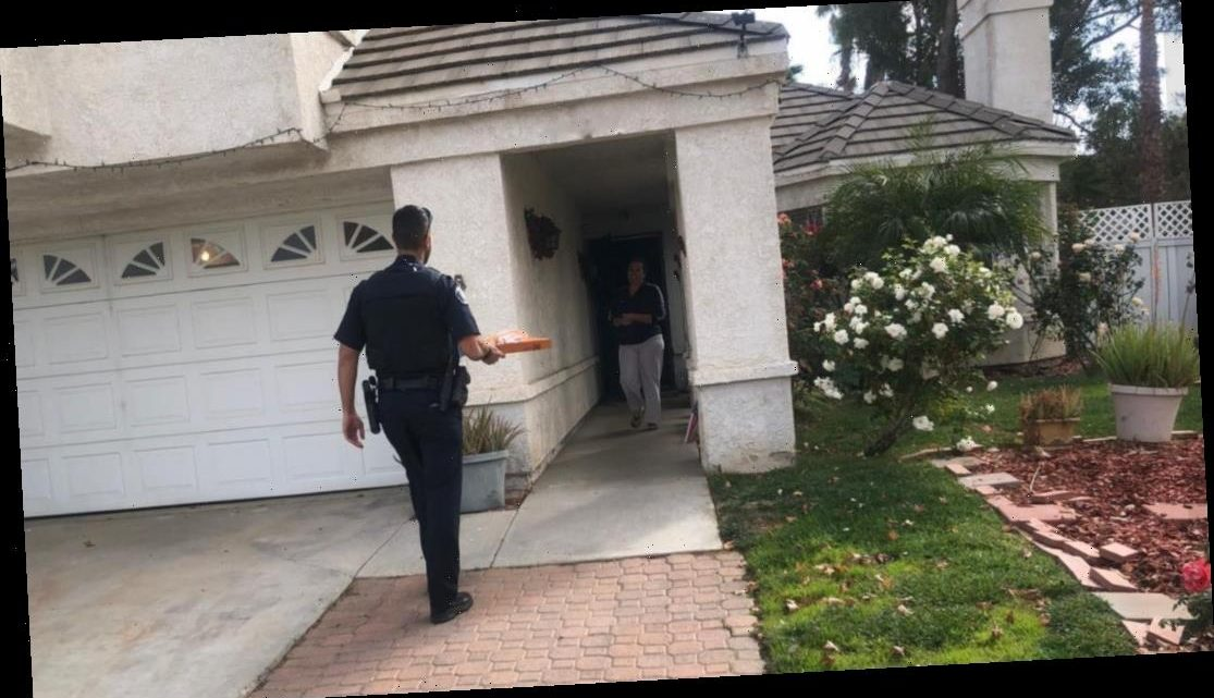 California police officer delivers pizza after arresting delivery driver