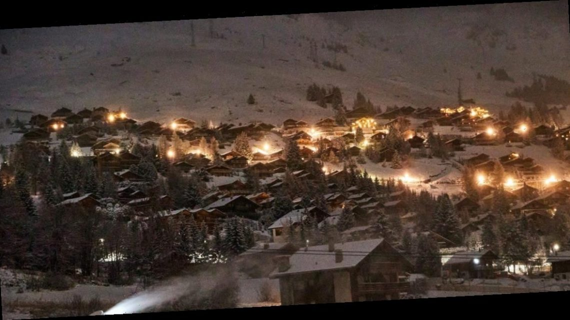 Under cover of darkness, hundreds of skiers secretly escaped from COVID-19 quarantine at a resort in the Swiss Alps