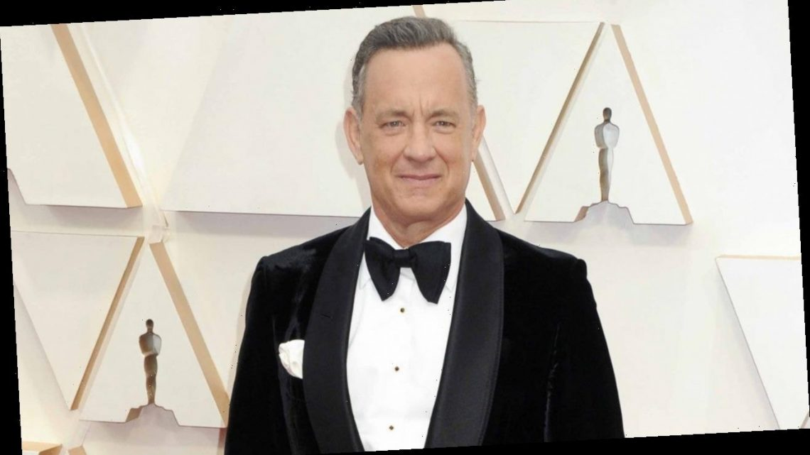 Tom Hanks Shows Off His Bald Head for Upcoming Elvis Presley Biopic