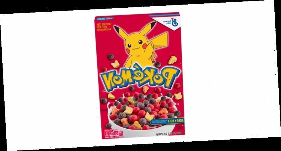 Start Your Morning Right With 'Pokémon' Berry Bolt Cereal