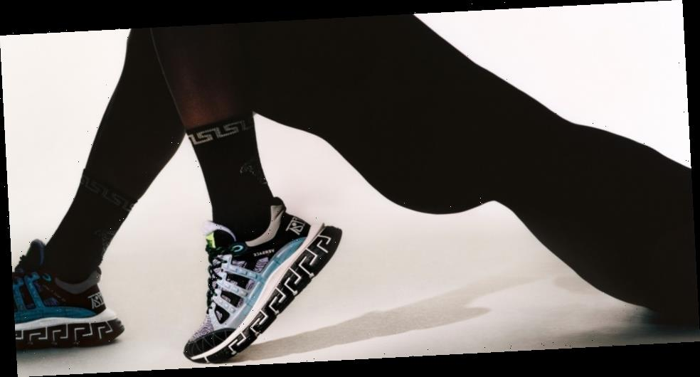 Versace's Trigreca Sneaker Shows the Latest Evolution of the Brand's House Codes