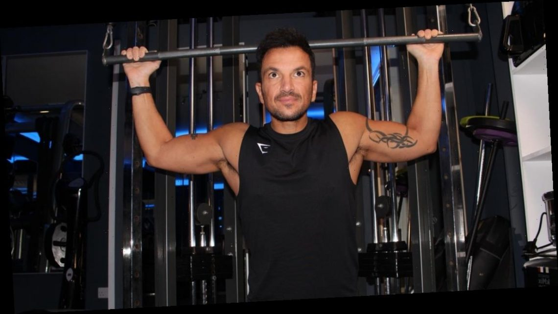Inside Peter Andre's strict health regime including not eating before lunchtime and following wife Emily's advice