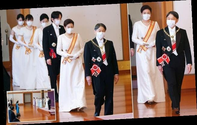 Japan's imperial family did not wear tiaras during New Year reception
