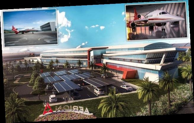 Aerion breaks ground on Florida HQ for supersonic jet