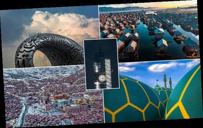 Winning images in a prestigious building photography contest revealed
