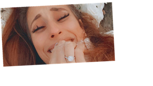 Stacey Solomon's stunning diamond engagement ring has big price tag attached, expert reveals