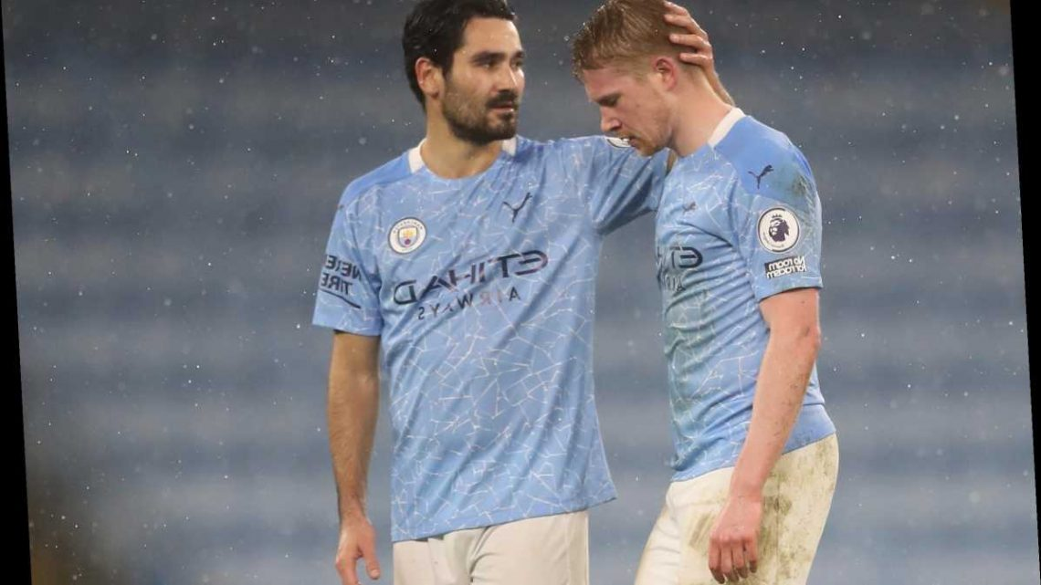 5 replacements for Kevin De Bruyne as Belgian is ruled out for 4-6 weeks