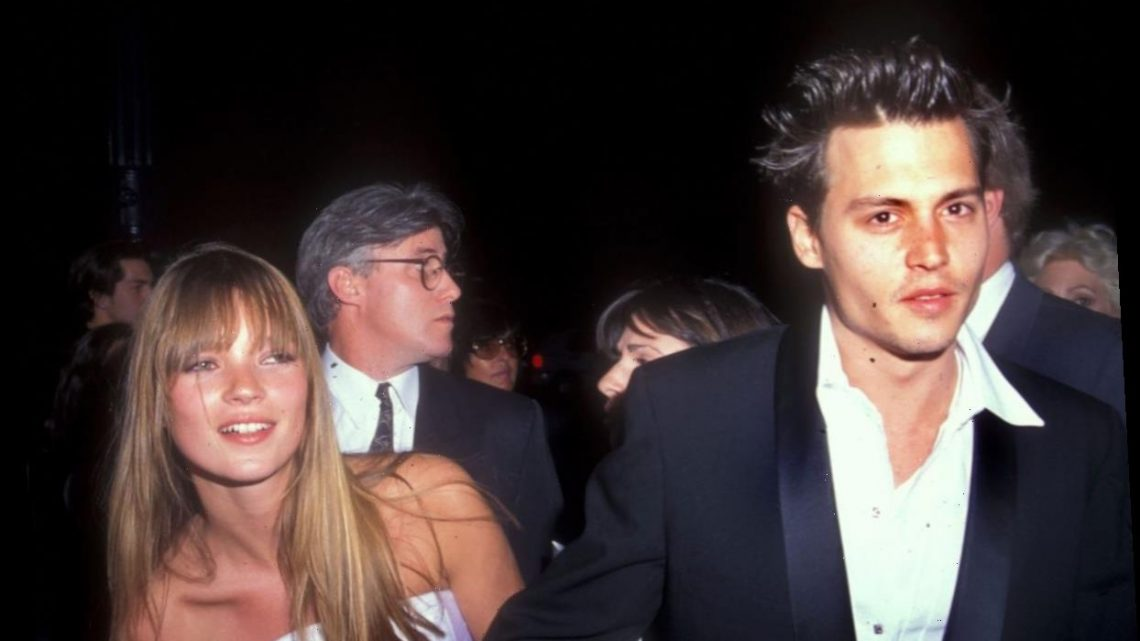 Johnny Depp Was So Taken With Kate Moss That He Once Presented Her a Diamond Necklace in His Butt
