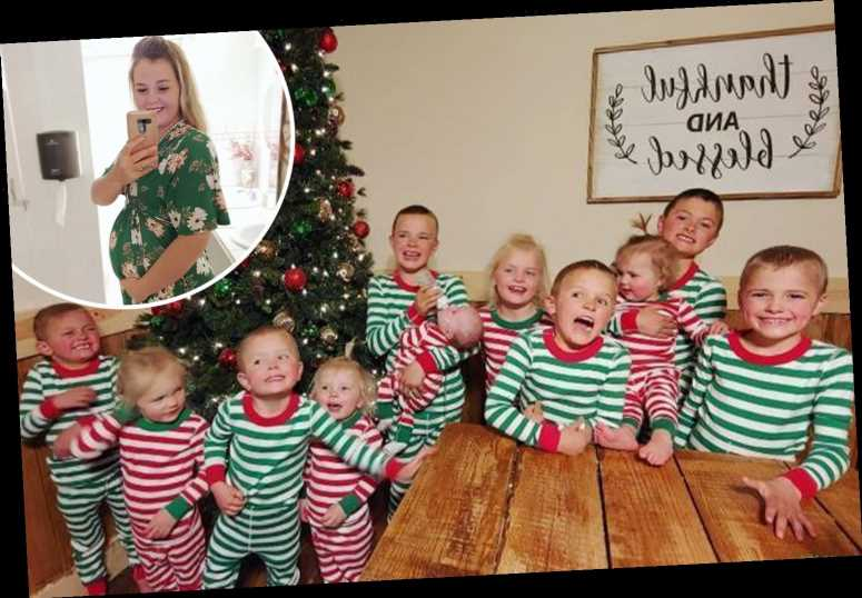 Mum who had 10 kids in 10 years welcomes her 11th child – and she plans to homeschool all of them