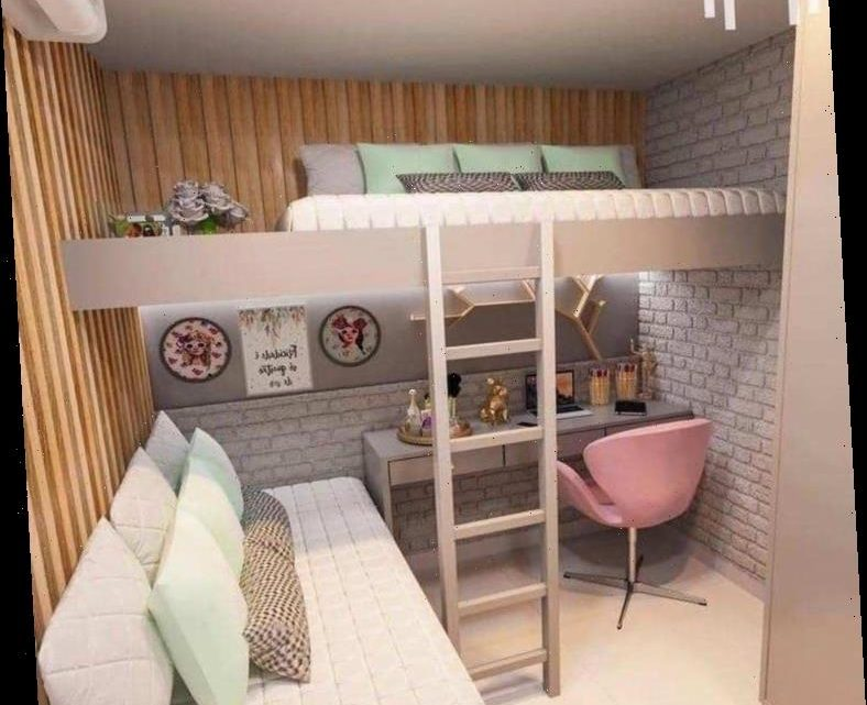 Mums are making double height bunk beds to give their kids more space in their bedrooms