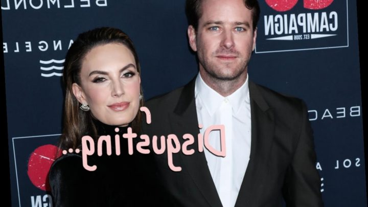 Armie Hammer's Estranged Wife Elizabeth Chambers Is 'Living In A Nightmare' Watching His Alleged DM Scandal Play Out
