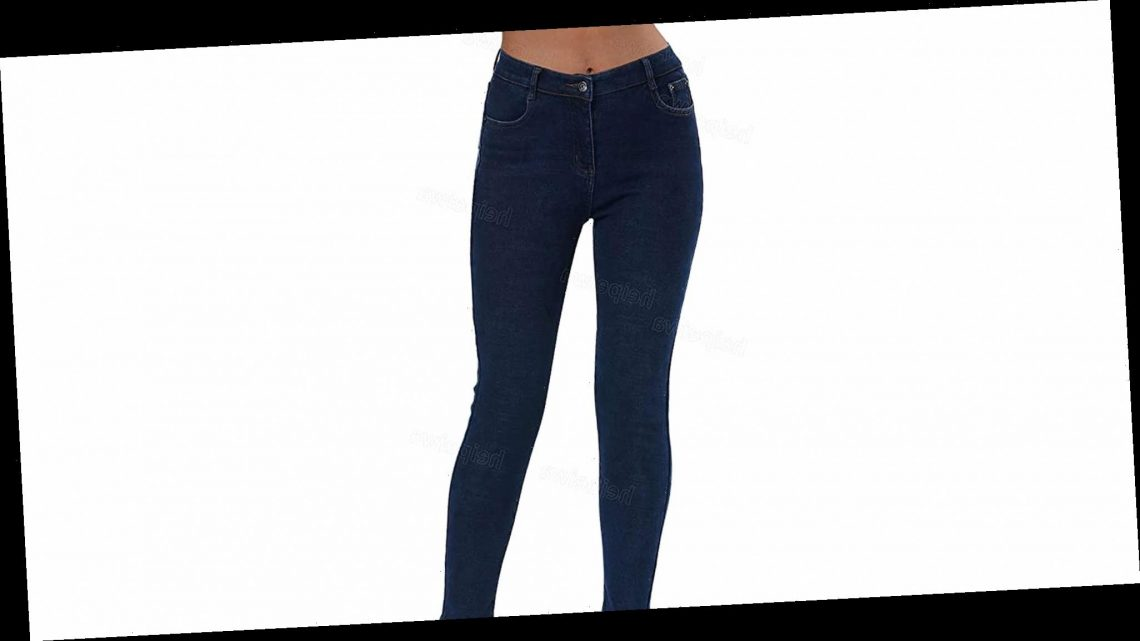 These Fleece-Lined Skinny Jeans Make Wearing Denim in the Winter Easy