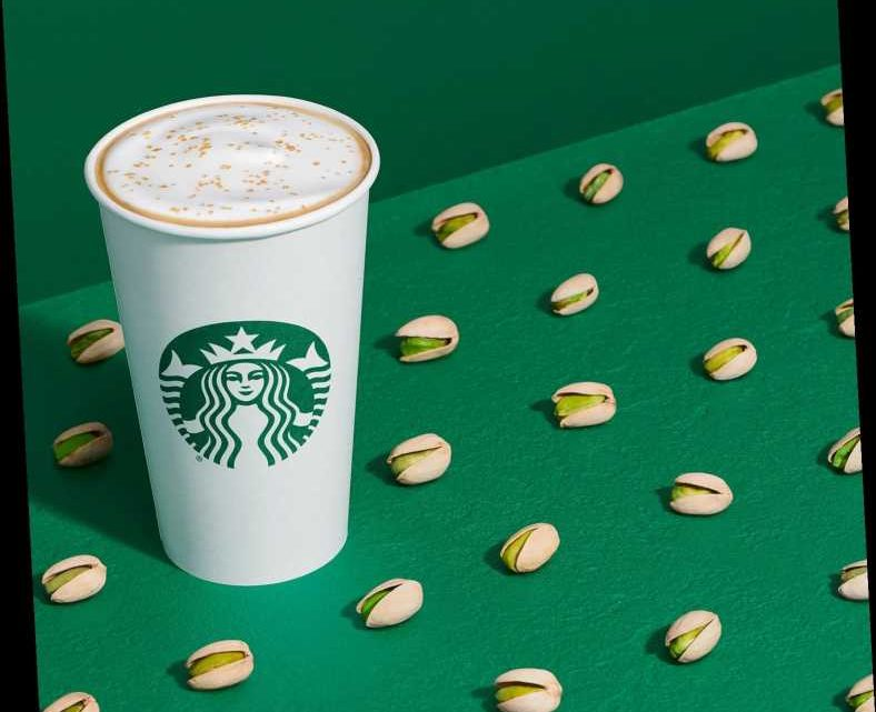Starbucks Unveils New Pistachio Latte with Brown Butter Topping