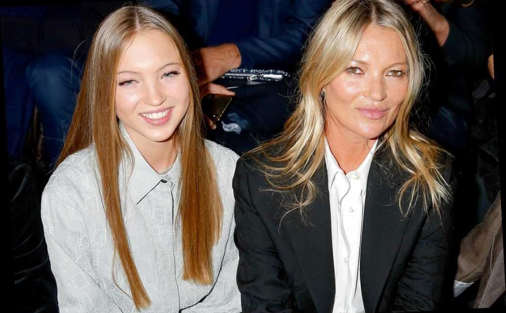 Kate Moss' Daughter Lila Grace Shares Sweet Throwback Photo on Her Mom's 47th Birthday