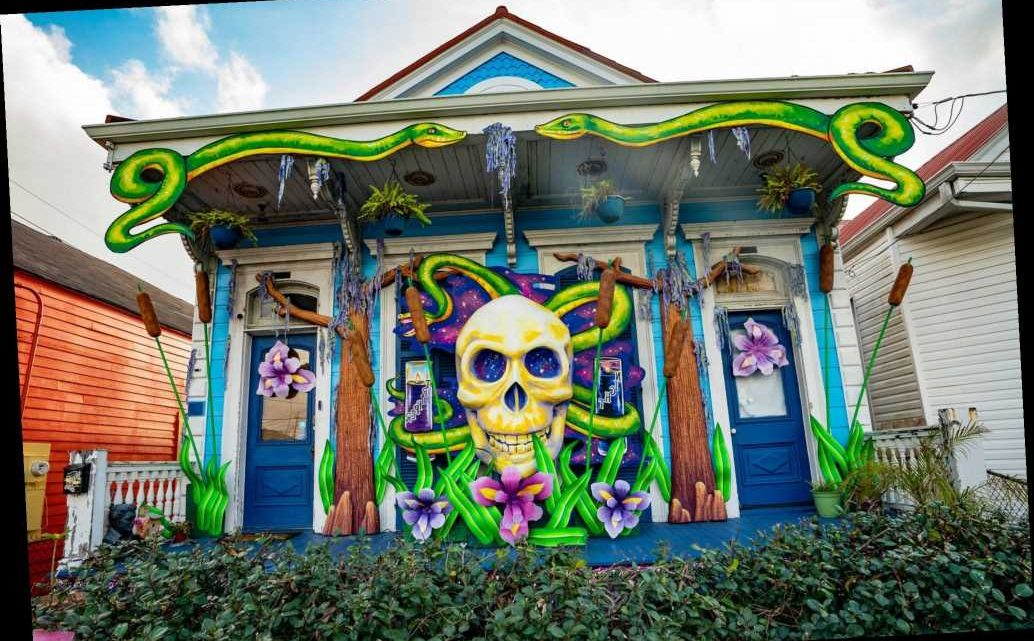 New Orleans Residents Transform Their Homes into 'Floats' amid Mardi Gras Parade Cancellations