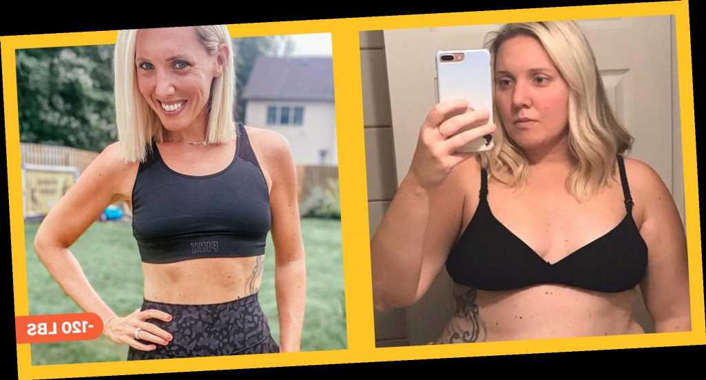 'I Did Beachbody Workouts And The Ultimate Portion Fix Program And Lost 120 Pounds'