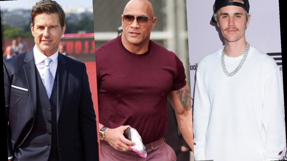 Justin Bieber Gets Dwayne Johnson's Support in Challenging Tom Cruise to Boxing Match