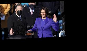 Kamala Harris Sworn in as First Female Vice President in U.S. History