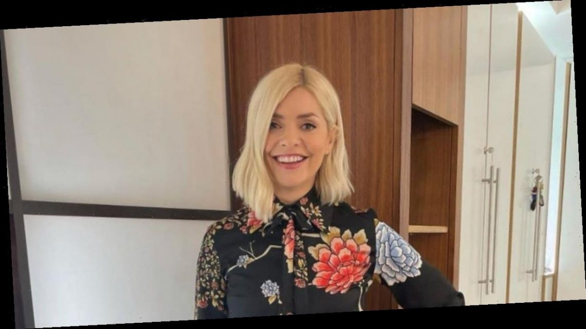 Holly Willoughby wows fans in £295 Victoria Beckham blouse on This Morning – copy her look for less here