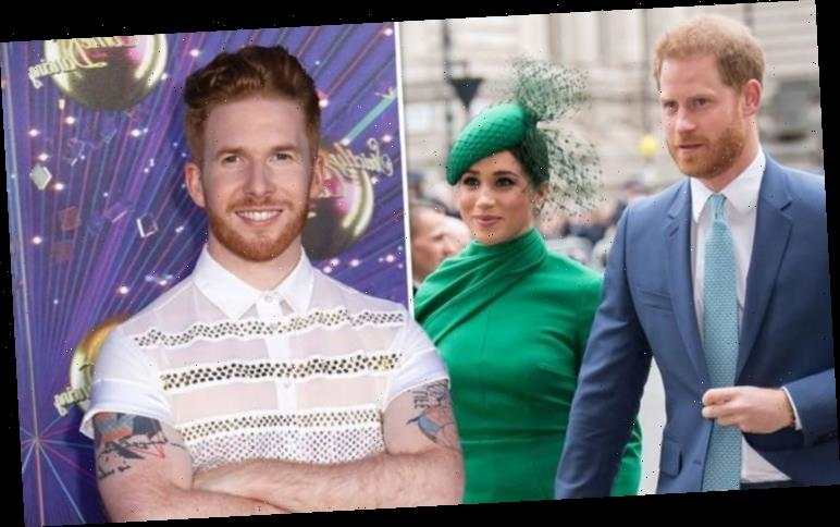 Neil Jones issues plea to dance with Meghan Markle on Strictly after Harry's appearance