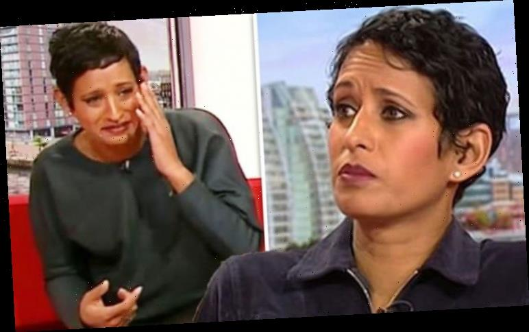 Naga Munchetty's BBC co-star turns her 'enthusiasm into misery' with pollen warning
