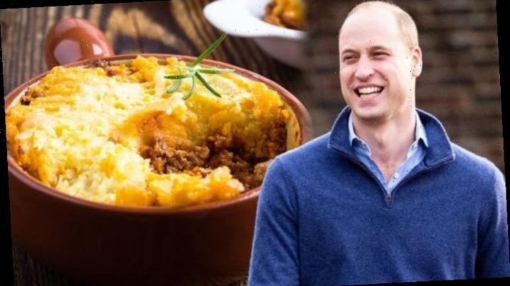 Royal recipes: Chef shares recipe for Prince William's 'favourite' cottage pie