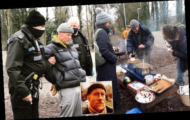 Cancer sufferer arrested for serving soup to disadvantaged people