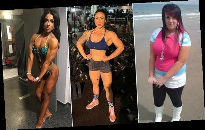 Obese woman finds love after losing 8 stone thanks to bodybuilding